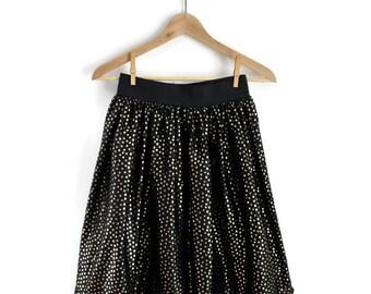 Girls Skirt, Girls Vintage Skirt, Girls 80s Skirt, Girls Party Skirt, Retro Skirt, Girls Vintage Clothes