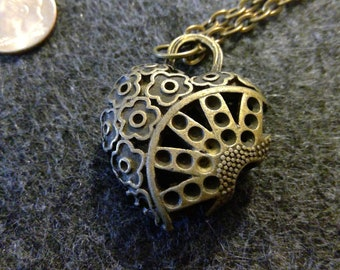 Necklace - Puffy Heart