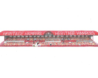 The North Stand at Ayresome Park