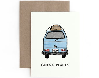 Going Places Greeting Card / Made in Hawaii