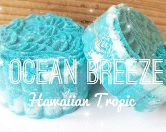 Ocean Breeze Bath Bomb, Hawaiian Tropic Bath Bomb,  Mooncake Bath Bomb, Moon Cake Bath Bomb, Vegan Bath Bomb, Cruelty Free Bath Bomb