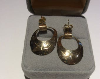 Carla Gold Filled Hoop Earrings