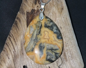 Spring Jewelry Sale - Crazy Lace Agate Necklace - Item 1244