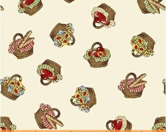 Little Red Riding Hood, 50300-1,  Baskets Cotton Woven fabric