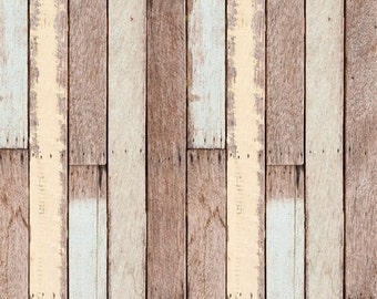 Wood Photography Floordrops, Vintage colorful shabby old wood background, Newborns photography backdrops, painted wood photodrops XT-4718