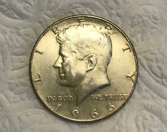 Free Shipping: 1966 and 1967 Silver Half Dollar Silver