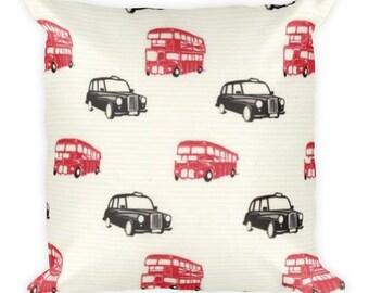 British Invasion Square Pillow