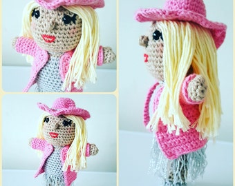 LADY GAGA Crochet Pattern - Amigurumi PDF instant download