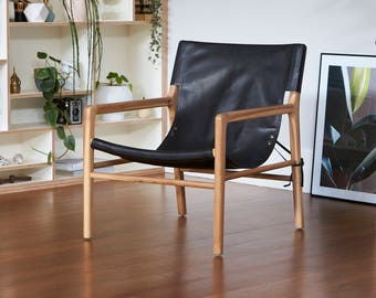 Hudson Armchair - BLACK