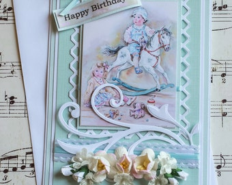 Kids Birthday Card, 3D Birthday Card, Handmade Birthday Card, Greeting Card, Card for Kids, Happy Birthday