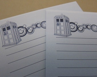 "Doctor Who - ""From the Desk of the Doctor"" Writing Sheets"