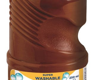Painting gouache 250 ml GIOTTO - Brown - Ref 530828 - until the stock!