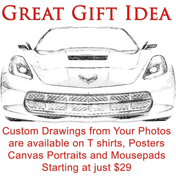40% OFF SALE Mazda Miata Drawing T shirt Your car Drawing is