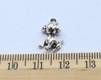 10 Dog Puppy Charms - EF00024