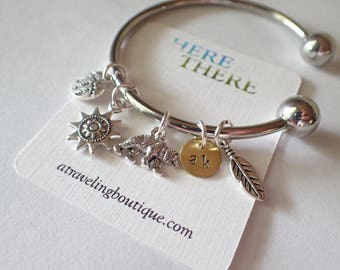Mountain Theme Charm Bracelet