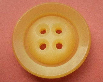 10 orange buttons 23mm (2326)