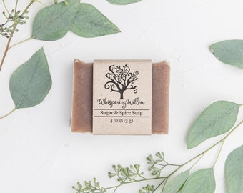 Handcrafted Holiday Soap - Sugar and Spice