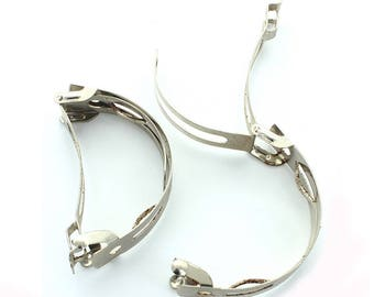Ponytail vintage steel barette.  Price is for 2 pieces.