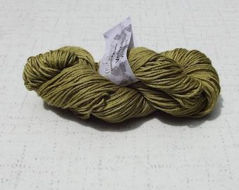 Cascade Yarns Venezia Yarn, Light Olive Yarn, Yarn Destash
