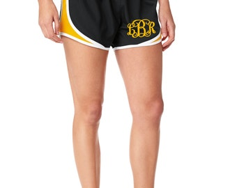 Personalized Ladies Sport Shorts- Stylish Athletic Work Out Shorts