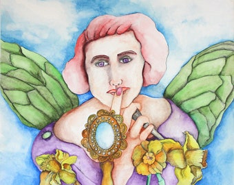 Whispering Angel Notecard