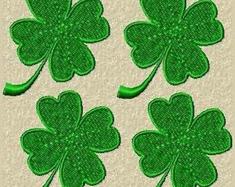 4 set Sunu leaf Shamrock very noble patch/appliqué
