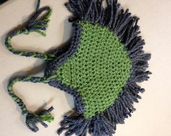 Crochet Mohawk Hat Pattern