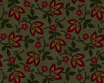 8205 0114 / Marcus Brothers / Pieceful Pines / Fabric / Pam Buda / Green