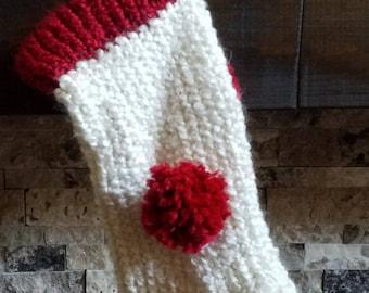 Knit Christmas stocking