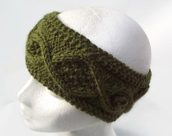 knitting pattern headband pdf earwarmer pattern