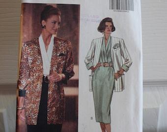 Vintage-Muster, Butt 6513, Jahrgang Butt, ungeschnitten, verfehlt Muster, Jacke Muster, Schnittmuster, 1990er Jahre Muster, Damen tragen