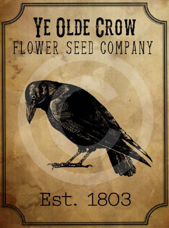 primitive old crow seed company