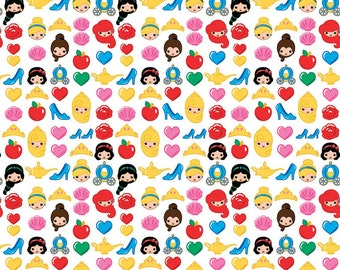 Disney Emojis Princess Fabric From Springs Creative