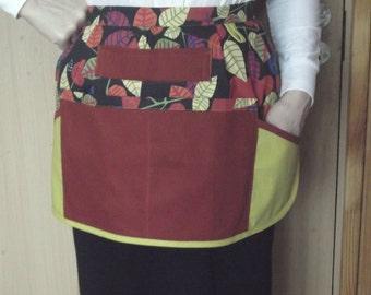 Cafe half apron vendor cotton apron teacher apron kitchen waist apron best gift ideas for mom