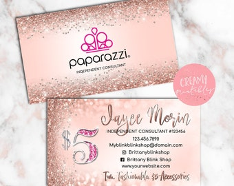 Paparazzi Business Cards Etsy - Paparazzi business card templates