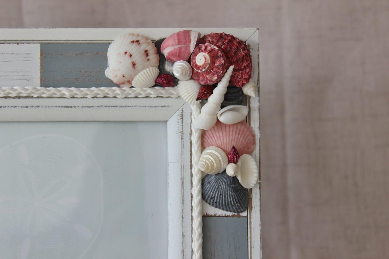 Marco 5 x 7, concha marco, marco rojo blanco gris, casa elegante ...