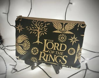 Lord of the Rings Zipper Pouch