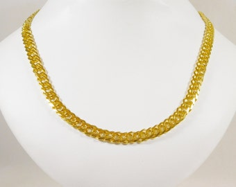 14k Gold Curb Link Chain