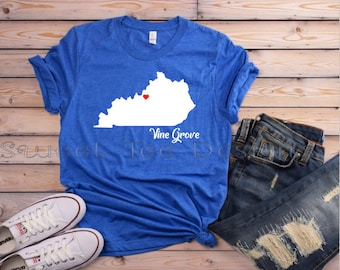 Kentucky Shirt. Kentucky Pride. Blue. White. Kentucky Tee. Bella Canvas. Southern. State of Kentucky. Kentucky Woman. Louisville. Lexington.