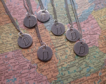The Kellie Necklace - Tiny Indiana Necklace