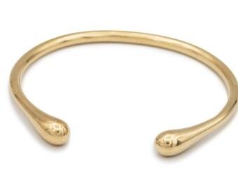 Seapod Bracelet in Brass