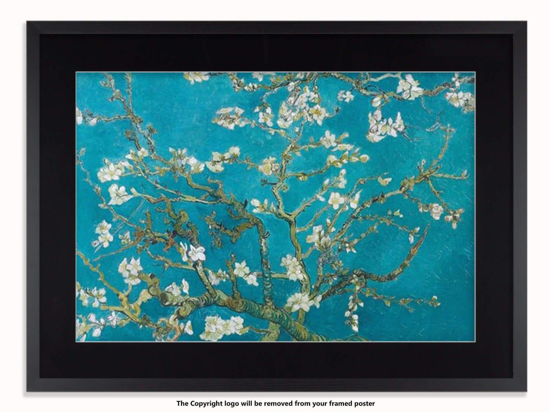 Vincent Van Gogh almendros en flor arte cartel