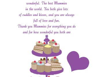 My Mummies Mothers Day Card 2