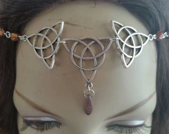 Autumn Circlet of the Celtic Maiden druid elven bridal cosplay
