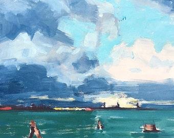 Venice Italy Landscape Painting Original