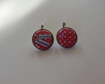 Often passionate Silver earrings