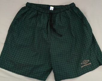 Vintage umbro soccer shorts size mens large rare
