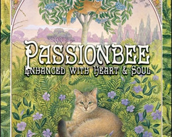 Ivory Cats: Passion Bee w/ Heart & Soul - for Women - Pheromone Enhanced Fragrance - Love Potion Magickal Perfumerie