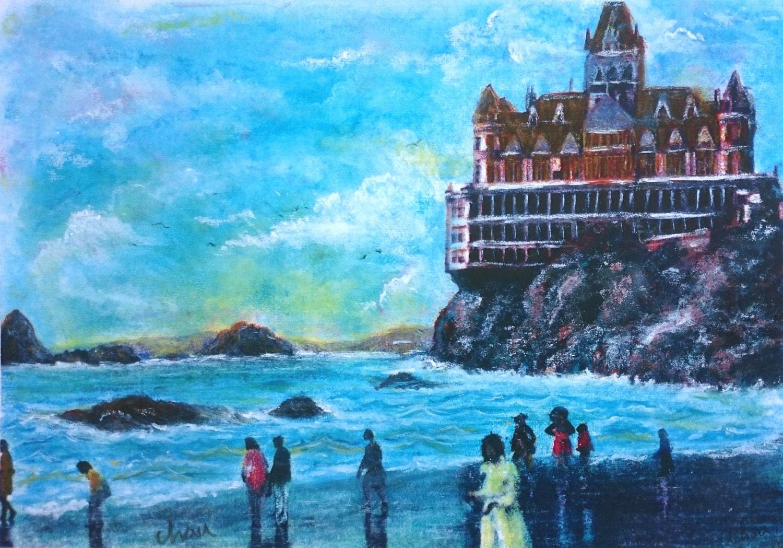 Cliff House Point Lobos rocas sello hito histórico en San