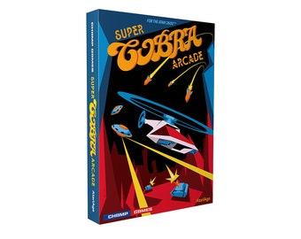 Super Cobra Arcade - Atari 2600 Homebrew Game